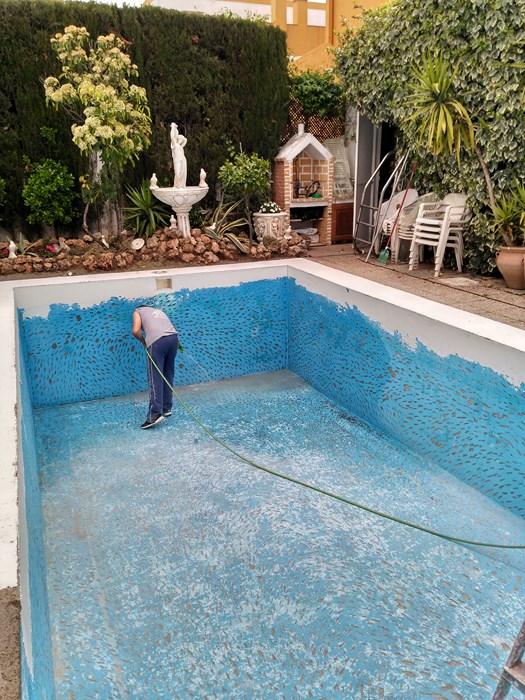 Quitar pintura de piscina piscinas el melenas - Pintura de piscina ...