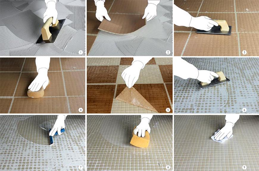 colocacion-gresite-papel